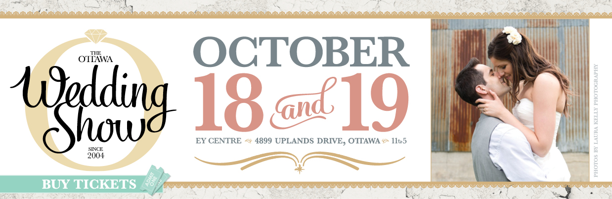 Ottawa Wedding Show October 18 and 19